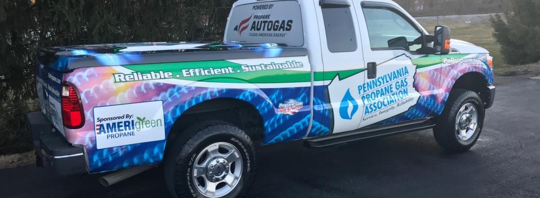 Truck AmeriGreen Logo Side1