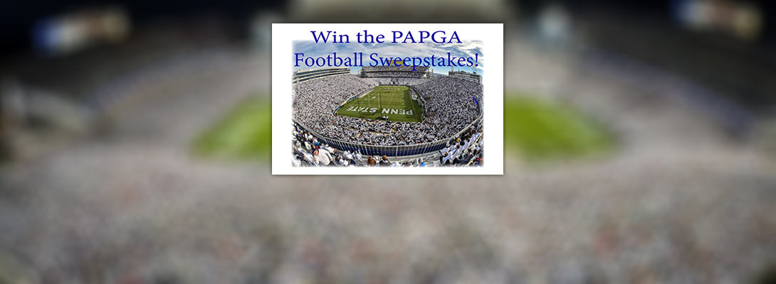 Win the PAPGA Football Sweepstakes!